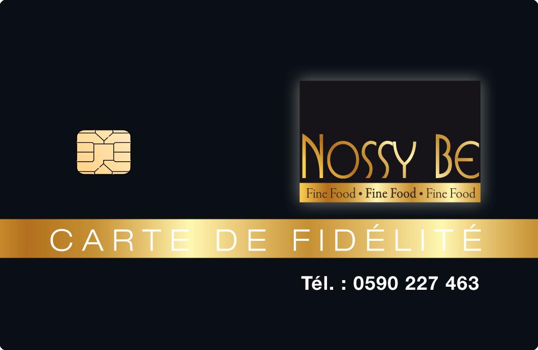 Carte Fidelité Nossy Be